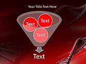 Red DNA Animated PowerPoint Template - Slide 24