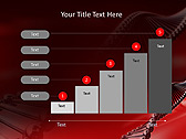 Red DNA Animated PowerPoint Template - Slide 33