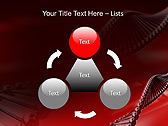 Red DNA Animated PowerPoint Template - Slide 5