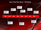 Red DNA Animated PowerPoint Template - Slide 6