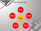 Complicated Labyrintgh Animated PowerPoint Template - Slide 21
