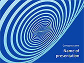 Spinning Circle Animated PowerPoint Templates - Slide 1