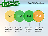 Green Teamwork Puzzle Animated PowerPoint Template - Slide 10