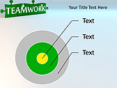Green Teamwork Puzzle Animated PowerPoint Template - Slide 17