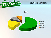 Green Teamwork Puzzle Animated PowerPoint Template - Slide 18