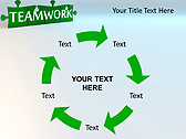 Green Teamwork Puzzle Animated PowerPoint Template - Slide 20