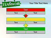 Green Teamwork Puzzle Animated PowerPoint Template - Slide 23