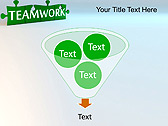 Green Teamwork Puzzle Animated PowerPoint Template - Slide 24