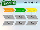 Green Teamwork Puzzle Animated PowerPoint Template - Slide 25
