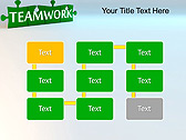 Green Teamwork Puzzle Animated PowerPoint Template - Slide 26