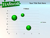 Green Teamwork Puzzle Animated PowerPoint Template - Slide 28
