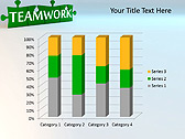 Green Teamwork Puzzle Animated PowerPoint Template - Slide 29