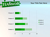 Green Teamwork Puzzle Animated PowerPoint Template - Slide 30