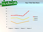 Green Teamwork Puzzle Animated PowerPoint Template - Slide 31