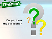 Green Teamwork Puzzle Animated PowerPoint Template - Slide 34