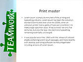 Green Teamwork Puzzle Animated PowerPoint Template - Slide 35
