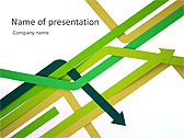 Arrow Abstraction Animated PowerPoint Template - Slide 1