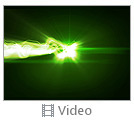 Green Splash Of Light Video