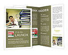 Burn Out At Work Brochure Templates