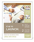 Office Work Poster Template