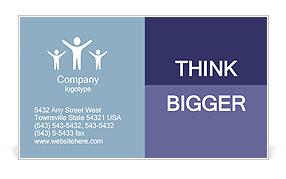 Business Area Business Card Template