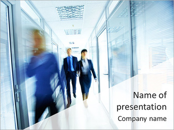 Business Area PowerPoint Template