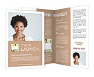 Woman's Profile Photo Brochure Templates