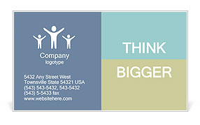 Business Discussion Business Card Templates