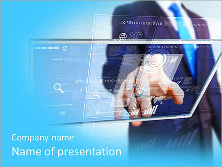 Using touch screen powerpoint template, backgrounds & google.