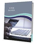 Shopping Via Internet Presentation Folder