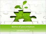 Eco Puzzle PowerPoint Templates