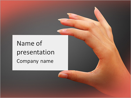 Business card powerpoint template backgrounds id 0000007822 business card powerpoint template cheaphphosting Image collections