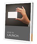 Business Card Presentation Folder