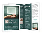 Abstract Touch Screen Brochure Templates