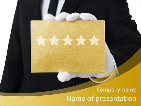 luxury hotel powerpoint template & backgrounds id 0000007826, Modern powerpoint