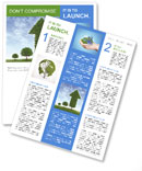 Eco Diagram Newsletter Template