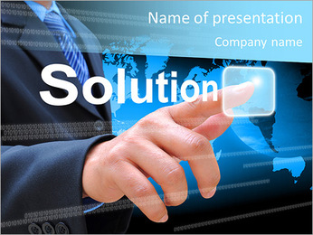 Business Solution PowerPoint Template