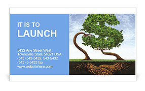 Eco Investment Business Card Templates
