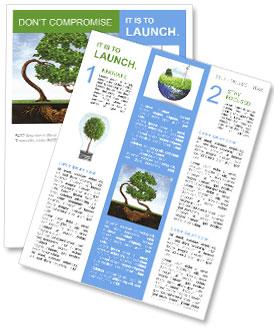 eco investment newsletter template design id 0000007835. Black Bedroom Furniture Sets. Home Design Ideas