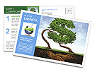 Eco Investment Postcard Templates