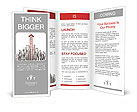 Red Ladder Arrow Brochure Templates