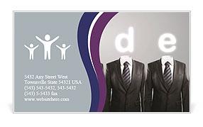 Bright Business Idea Business Card Template