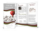 Red Balloon Brochure Templates
