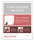 Dialog Cloud Poster Template