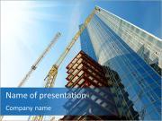 Gökdelen inşa PowerPoint sunum şablonları