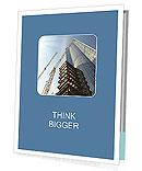 Build Skyscraper Folhetos de apresentação
