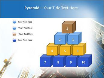 Construir arranha-céus Modelos de apresentações PowerPoint - Slide 11