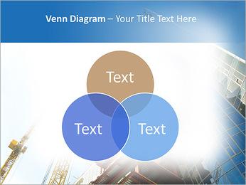 Construir arranha-céus Modelos de apresentações PowerPoint - Slide 13