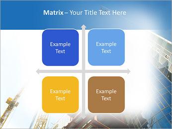 Construir arranha-céus Modelos de apresentações PowerPoint - Slide 17
