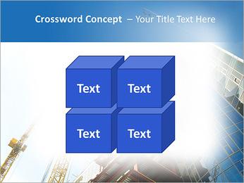 Construir arranha-céus Modelos de apresentações PowerPoint - Slide 19